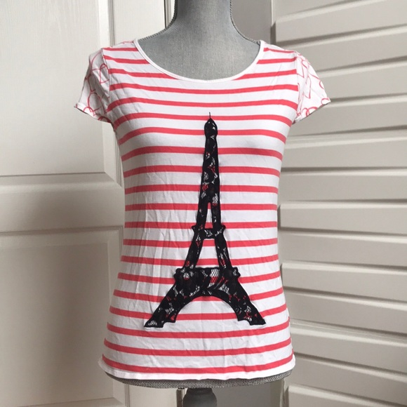 Elle Eiffel Tower T-Shirt